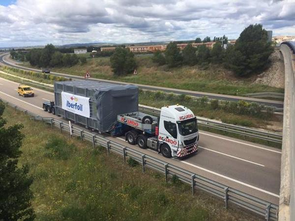 Iberfoil Aragón recibe su nuevo horno