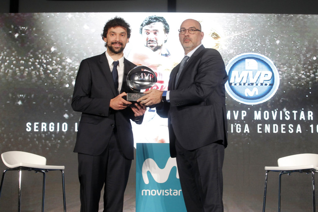 Movistar otorga el MVP Movistar al base madridista Sergio Llull