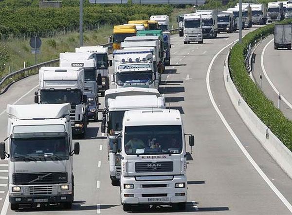 Transporte por carretera creció en España en primer trimestre