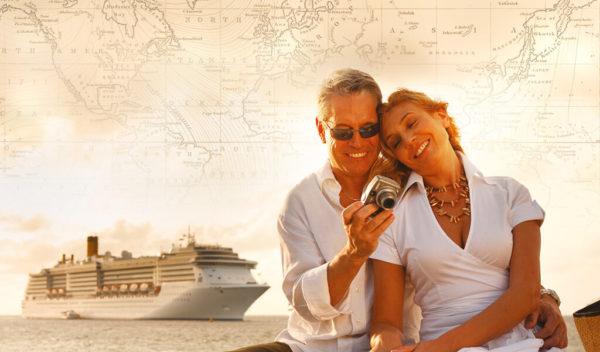 Turistas con costa cruceros