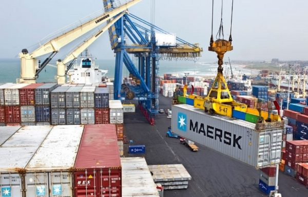 maersk line container