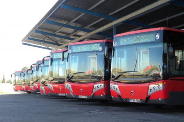 matriculaciones de autobuses