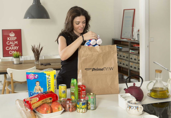 Amazon y la cadena de supermercados Dia