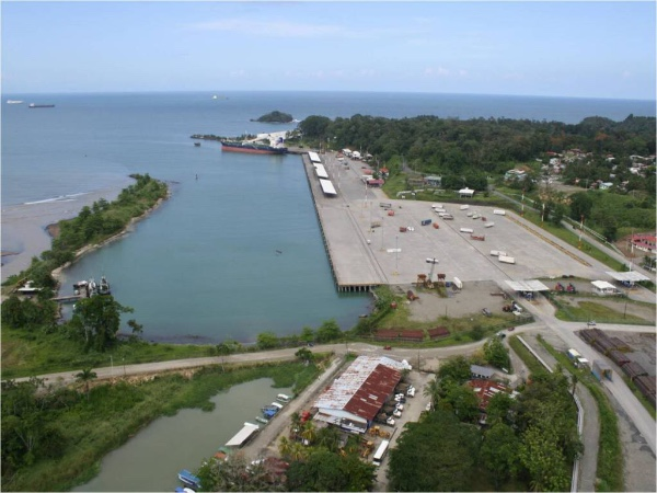 Apertura del puerto de Moin (Costa Rica) se retrasa