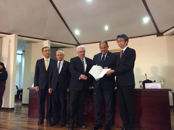 Costa Rica busca acuerdo comercial con Japon