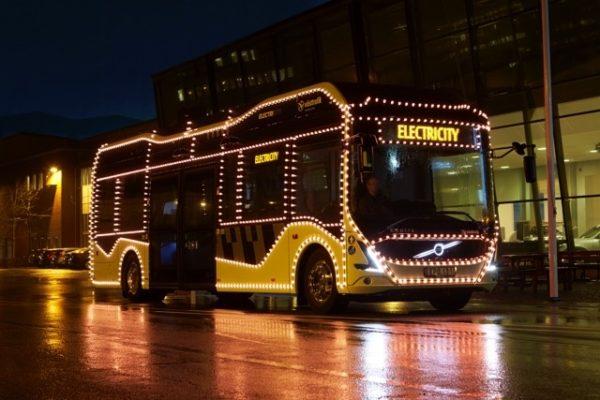 autobús eléctrico Suecia