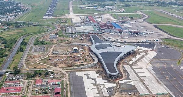 Obra del Aeropuerto Internacional de Tocumen finalizada al 72%