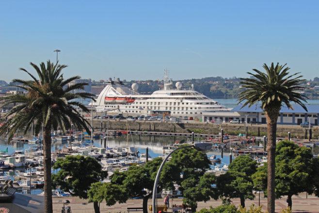 Puerto de Ferrol. Cruceros