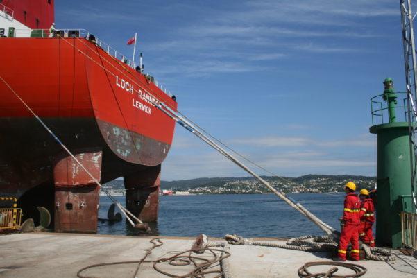 Puerto de Ferrol. Incargo Galicia