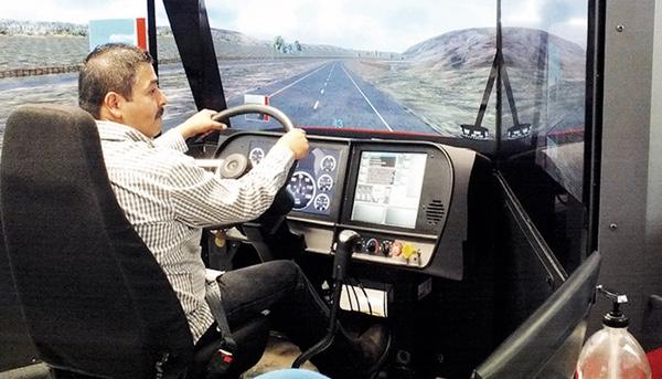 Simulador de capacitacion conductores de Nuevo Laredo no se esta usando
