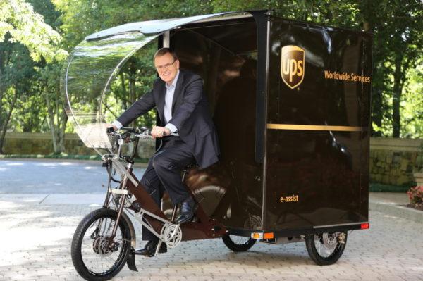 UPS bici