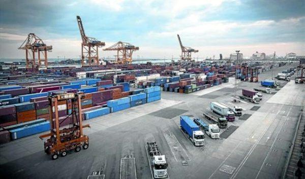contenedores del Puerto de Barcelona