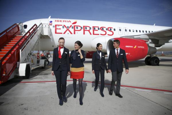 tripulación Iberia Express