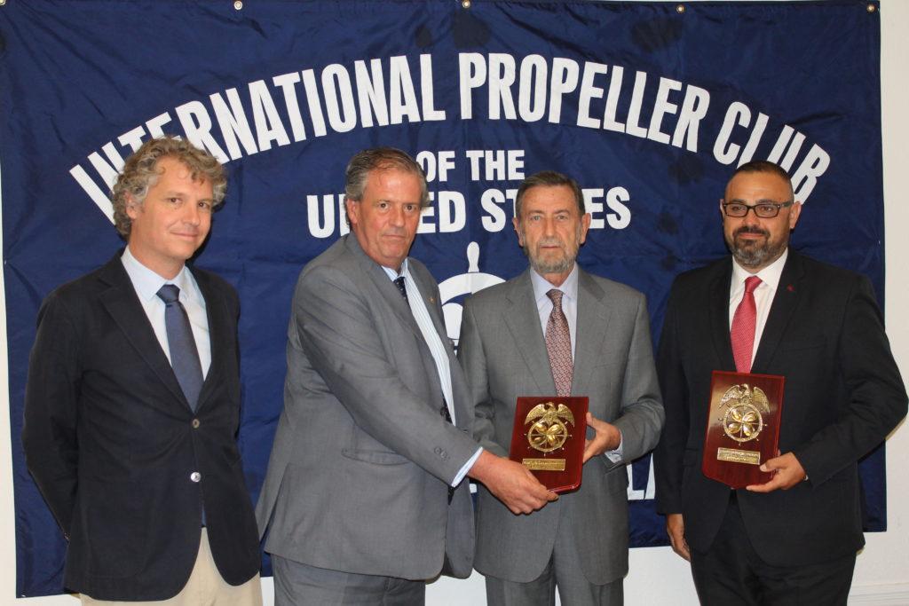 APS y PropellerClub de Sevilla