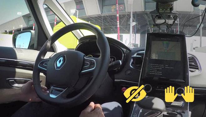 Abertis, Sanef y Renault se unen para desarrollar soluciones de comunicación entre las autopistas y los vehículos autónomos