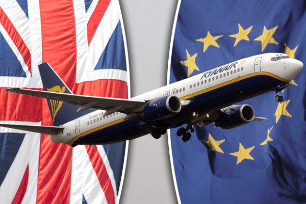 Ryanairy el Brexit