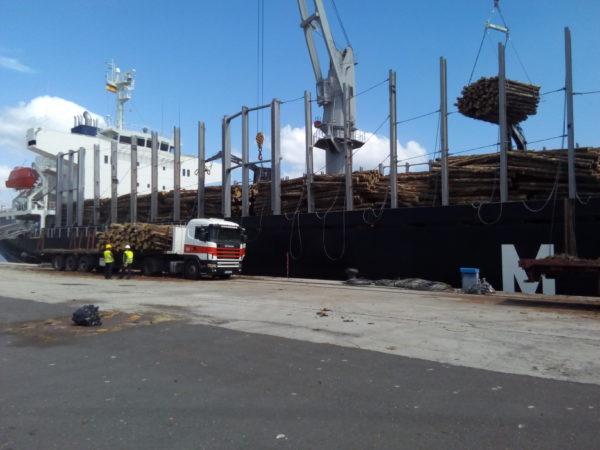 Puerto de Ferrol. Mercancías