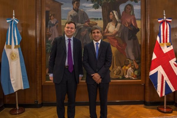 Argentina profundiza relacion comercial con Reino Unido