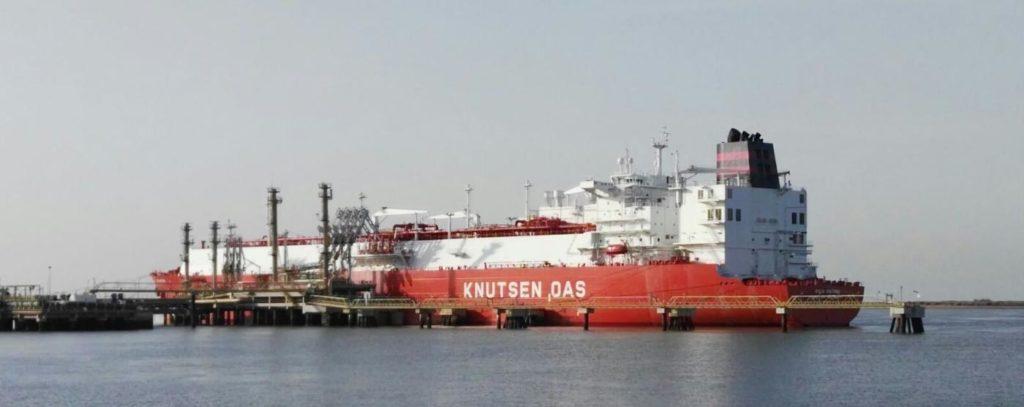 Buque en Puerto de Huelva