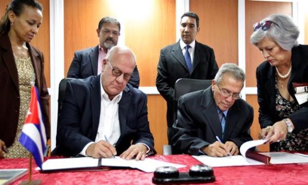 Cuba firma acuerdo de cooperacion con Houston