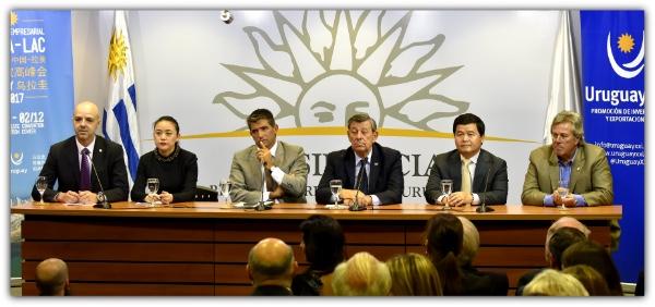 Cumbre China-LAC se celebrara en Uruguay