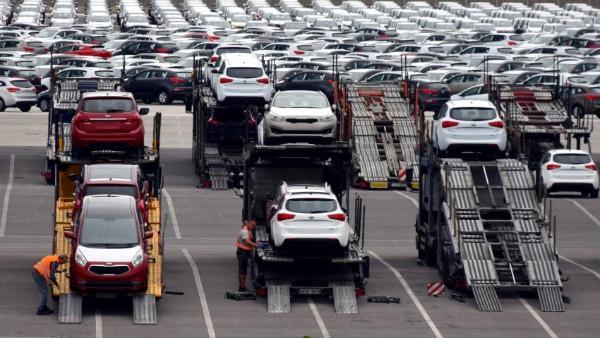 Exportacion de vehiculos crece en Mexico en julio