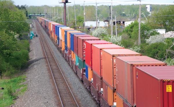 Ferrocarril gana importancia en el comercio entre Mexico y Estados Unidos