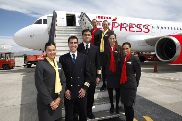 Iberia Express tripulación