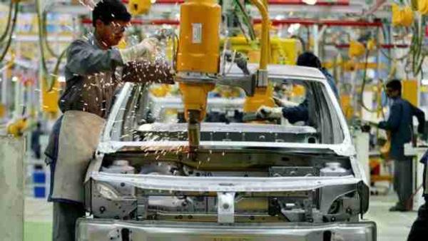 Manufacturas crecen en Mexico en julio