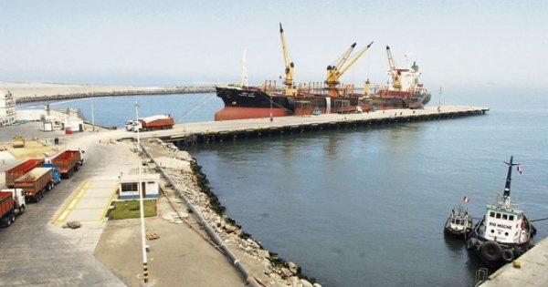 Peru mejora el puerto de Salaverry
