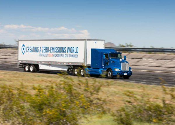 Pila de hidrógeno para camiones