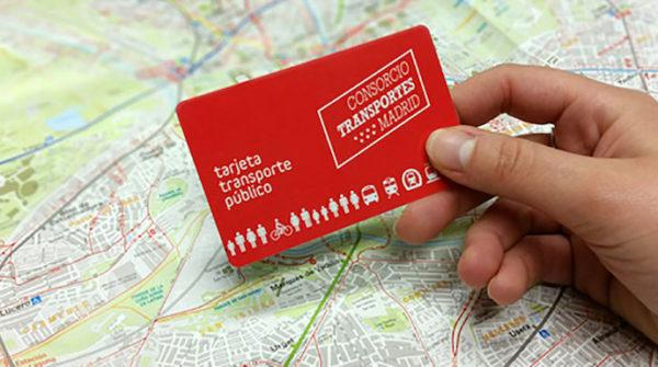 tarjeta de transportes Multi