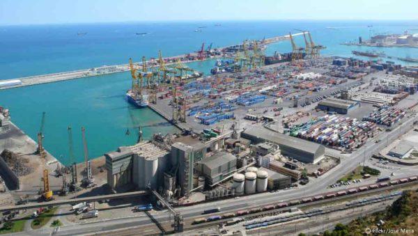 tráfico del puerto de Barcelona