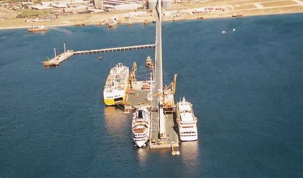 Argentina arranca las obras para nuevo muelle en el puerto Madryn