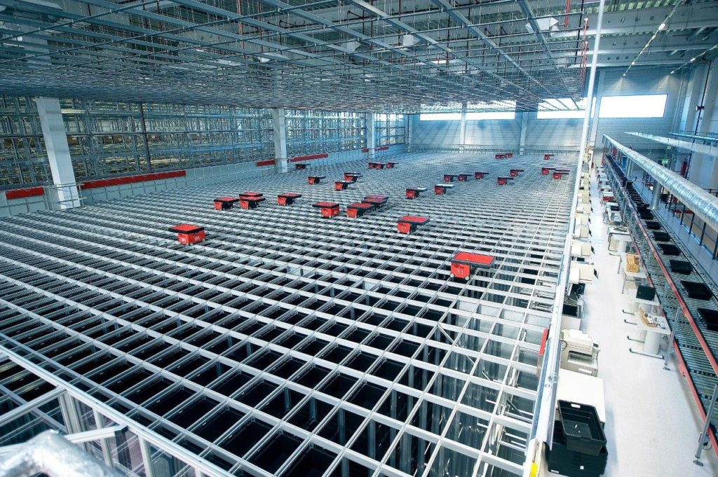 Dematic y AutoStore