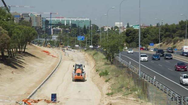 Autovía A-2. Obras sentido Zaragoza