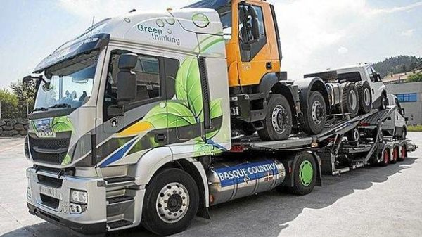 Camion Gas Natural