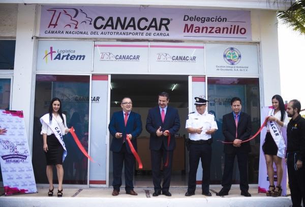 Canacar inaugura delegacion en Manzanillo