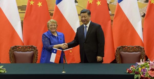 Chile y China ya tienen fecha para firmar el TLC