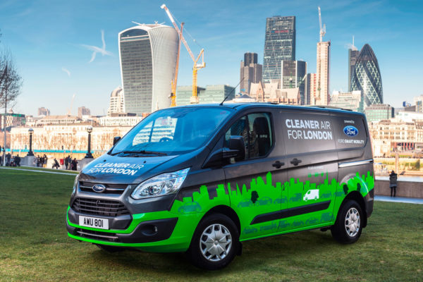 Ford Transit Custom electrica