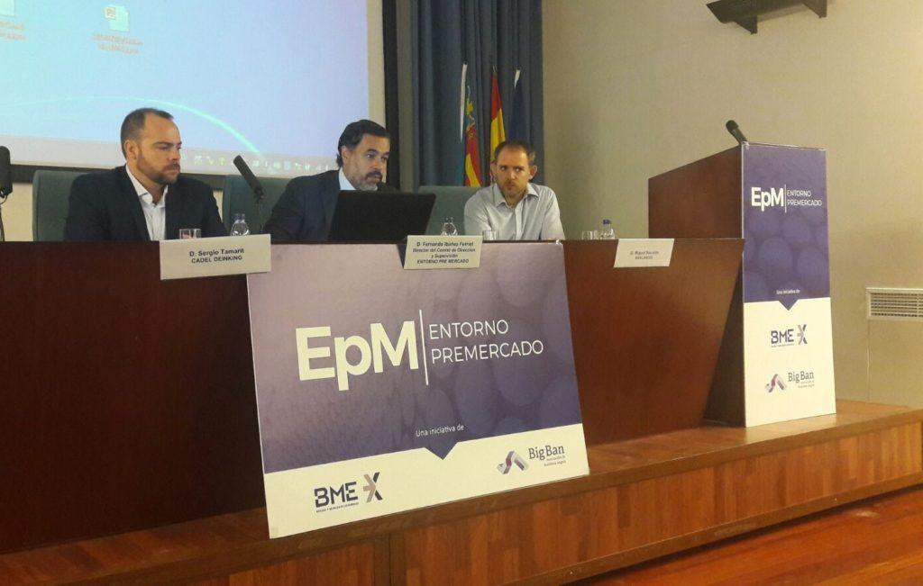 Presentación Navlandis Bolsa de Valencia