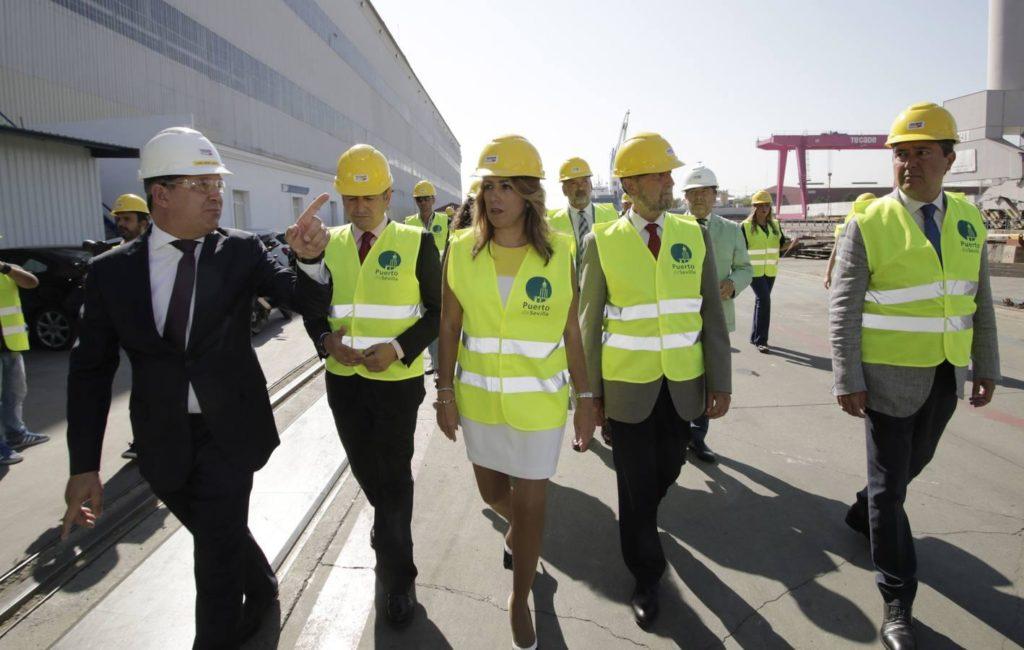 Puerto de Sevilla cambiará el antiguo astillero y quiere expandirse