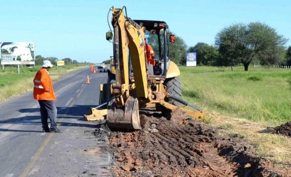 Reforma de la ruta Transchaco (Paraguay) va con adelanto