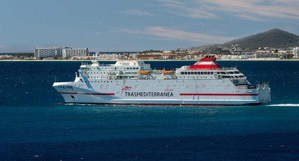 Transmediterránea operará las líneas marítimas Málaga-Melilla y Almería-Melilla