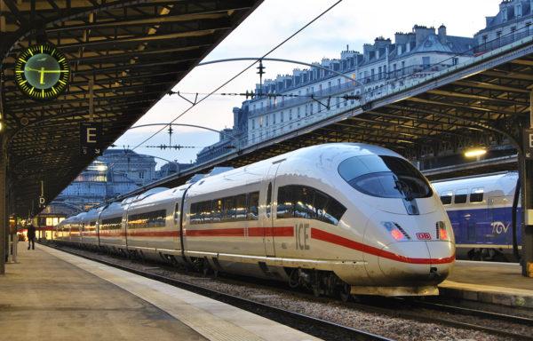 Viajeros tren
