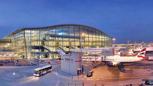 aeropuerto londinense de Heathrow