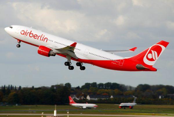 avión de airBerlin