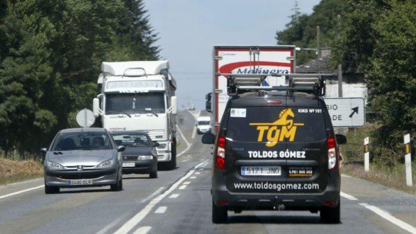 carretera en Galicia
