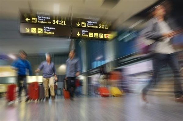 tráfico aéreo mundial de pasajeros