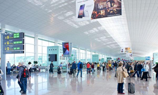 tráfico mundial de pasajerosaéreos